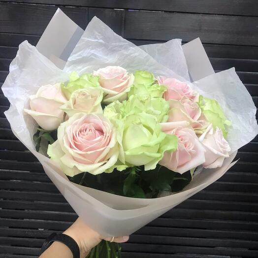 Букет «Нежный» из роз