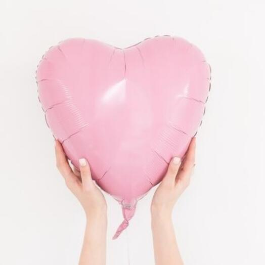 Шар воздушный Сердце с гелием