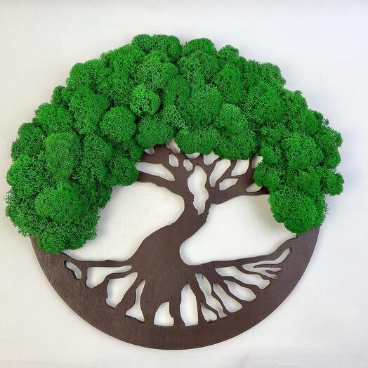 1 Дерево жизни зелёное 30 см