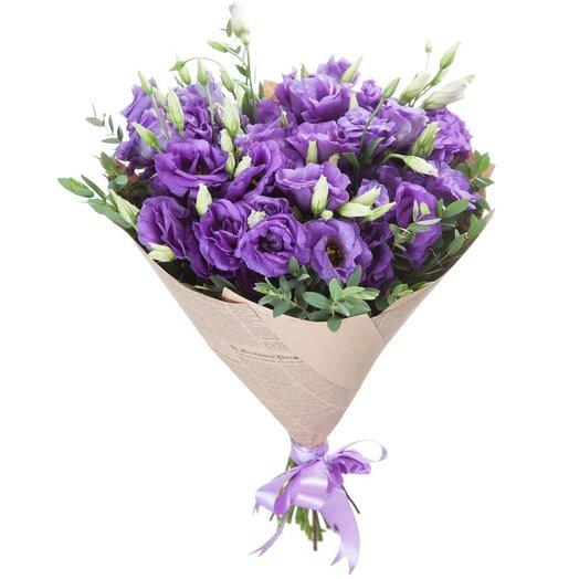 Букет из лизиантусов: букеты цветов на заказ Flowwow
