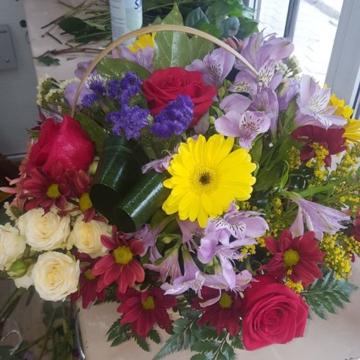 Flower basket mix