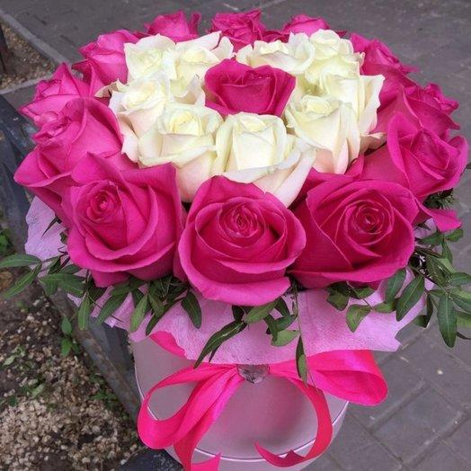 """Букет-признание """"Люблю тебя"""": букеты цветов на заказ Flowwow"""
