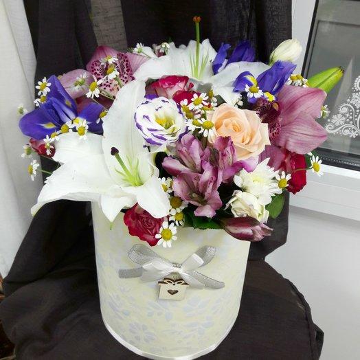 Нимфа: букеты цветов на заказ Flowwow