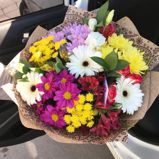 Яркий микс : букеты цветов на заказ Flowwow