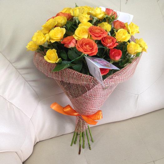 Букет «Шарм»: букеты цветов на заказ Flowwow