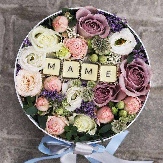 Маме с буквами: букеты цветов на заказ Flowwow
