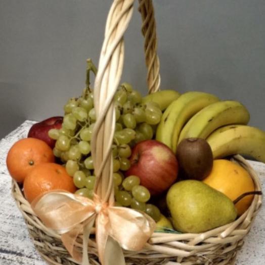 Новогодний подарок Корзина витаминов