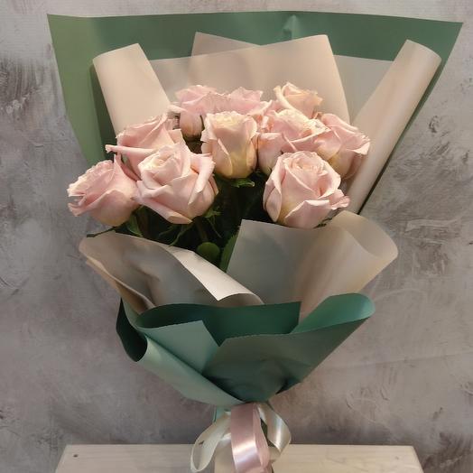 Букет из нежной пионовидной розы: букеты цветов на заказ Flowwow