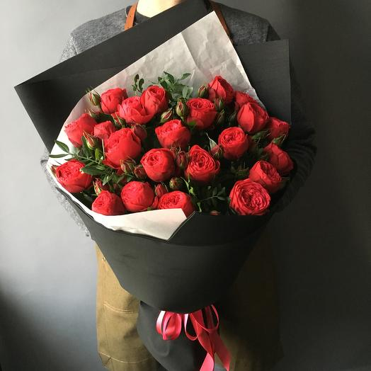 Пионоивдные розы: букеты цветов на заказ Flowwow