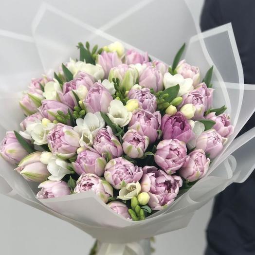 """Букет """"Лавандовый"""": букеты цветов на заказ Flowwow"""