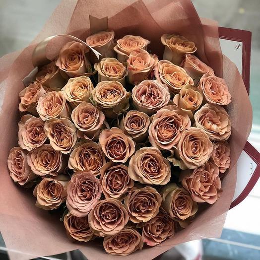 Солёная карамель: букеты цветов на заказ Flowwow