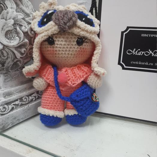 Кукла Совушка: букеты цветов на заказ Flowwow