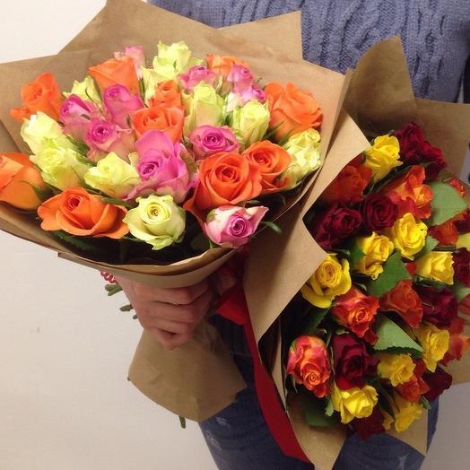 Букет из роз (29 шт): букеты цветов на заказ Flowwow