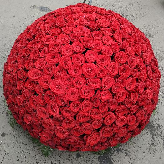 501 Аллых Роз: букеты цветов на заказ Flowwow