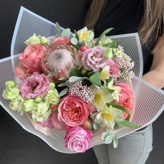 Магическая нежность: букеты цветов на заказ Flowwow