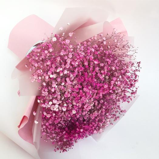 Breath in pink: flowers to order Flowwow