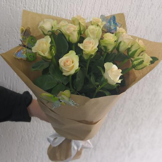 Букет Цветочный сад: букеты цветов на заказ Flowwow
