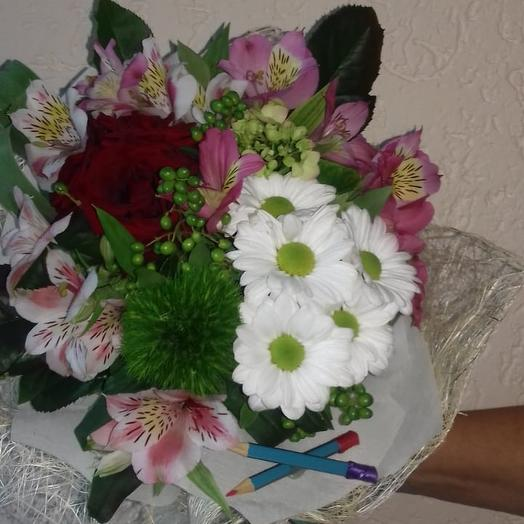 Школьный вальс: букеты цветов на заказ Flowwow