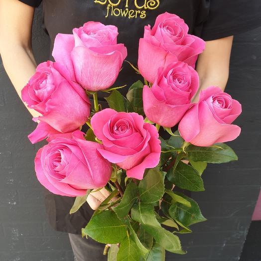 Роза фуксия: букеты цветов на заказ Flowwow