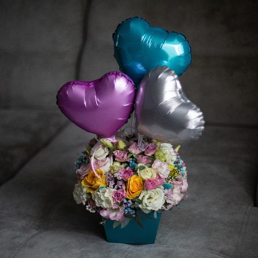 Счастливый праздник: букеты цветов на заказ Flowwow