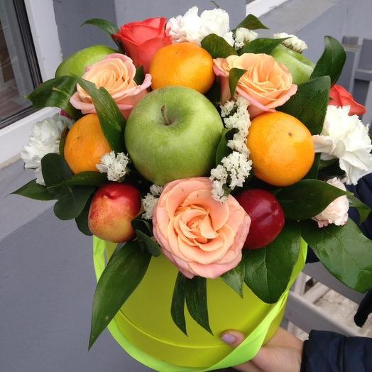 Яблочный десерт: букеты цветов на заказ Flowwow