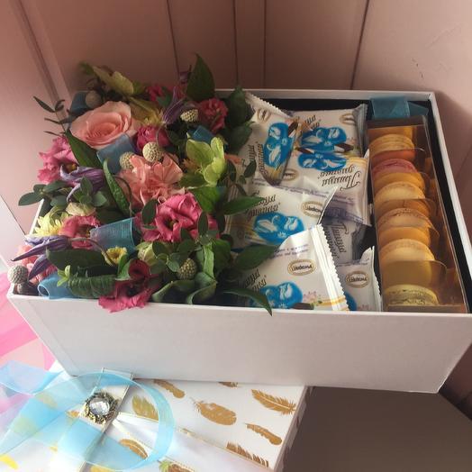 Набор обожания: букеты цветов на заказ Flowwow