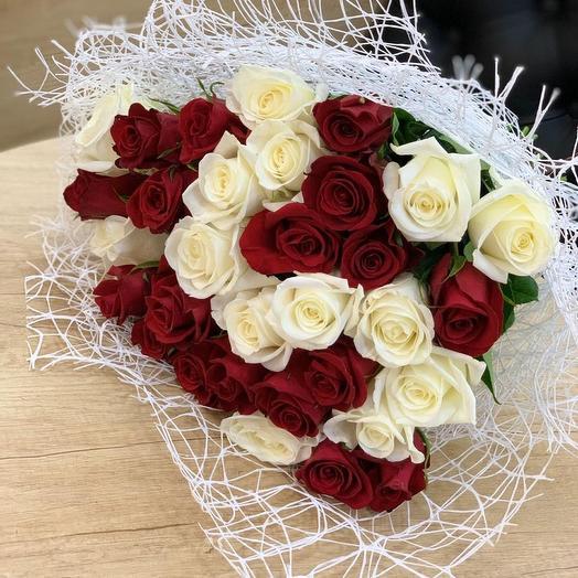 Розы мечты: букеты цветов на заказ Flowwow