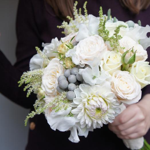 Свадебный букет 1: букеты цветов на заказ Flowwow