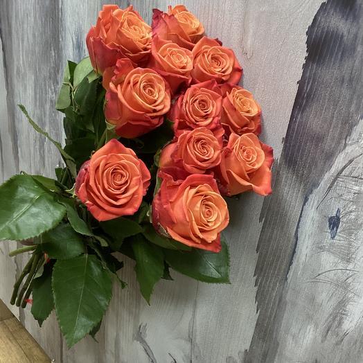 Апельсиновый фреш: букеты цветов на заказ Flowwow