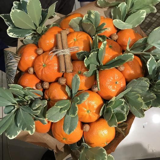 Букет из мандаринов
