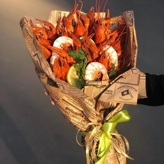 Морской коктейль: букеты цветов на заказ Flowwow