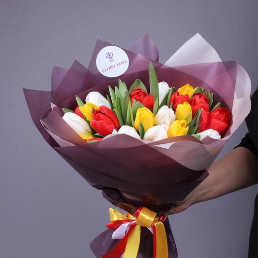 21 тюльпанов микс