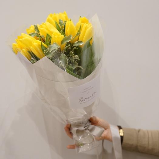 Rafinad yellow: букеты цветов на заказ Flowwow
