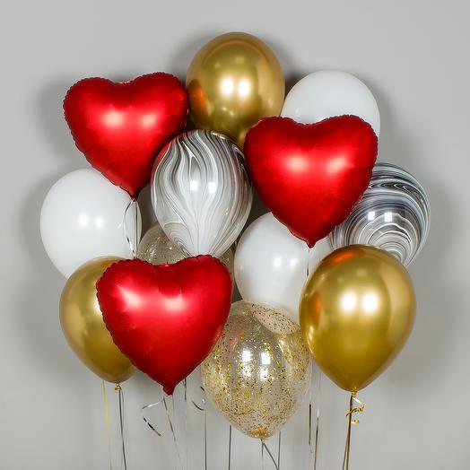 Набор шаров «True Love»