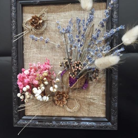 Панно на стену Прованс: букеты цветов на заказ Flowwow
