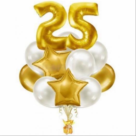 Набор шаров «25 золотых»