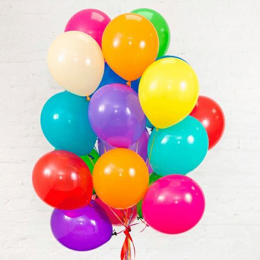 20 разноцветных шаров