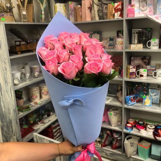 21 Роза в фоамиран