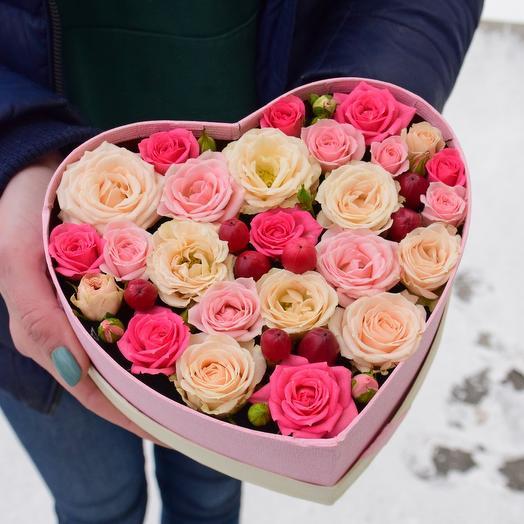 Ароматное и нежное сердечко С любовью 💗