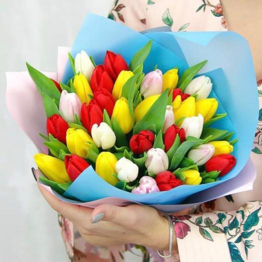 35 Тюльпанов микс