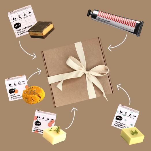 Подарочный набор: уход для рук, волос и тела, Aroma   Care