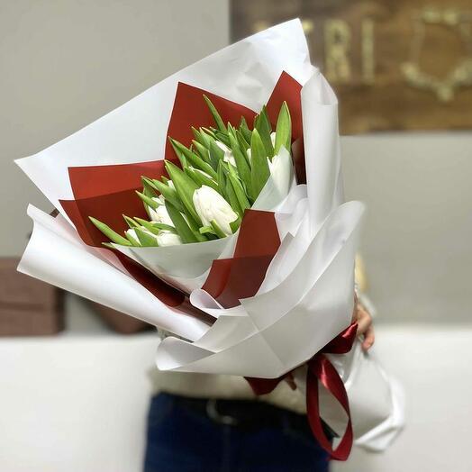Букет тюльпанов «Для принцессы»
