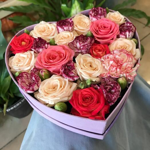 Коробочка-серце Восхищение