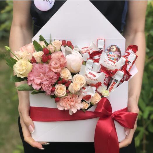 Цветочки с конфетками
