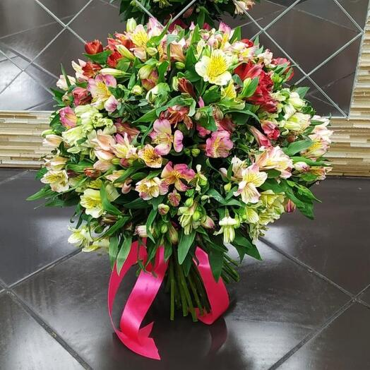 Bouquets from Alstroemeria