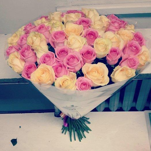 51 микс роза: букеты цветов на заказ Flowwow