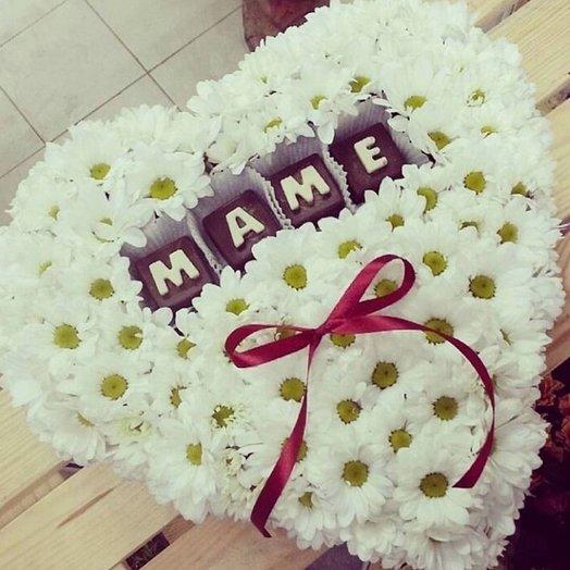 Коробочка Маме по Акции: букеты цветов на заказ Flowwow