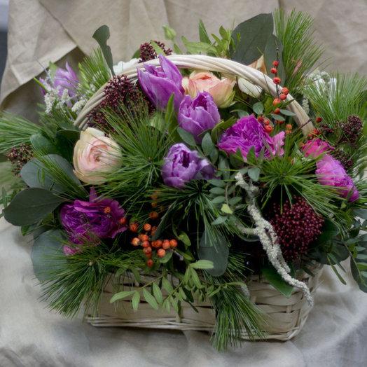 ЗИМА УЖЕ ПРИШЛА: букеты цветов на заказ Flowwow