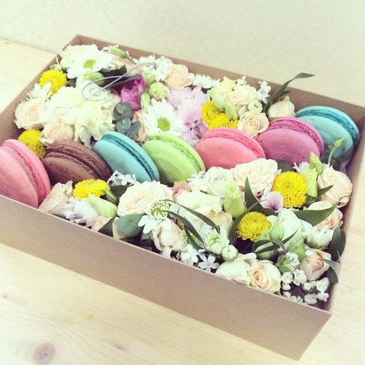 Цветочные сладсти: букеты цветов на заказ Flowwow