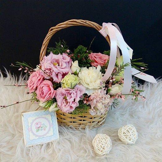 Корзина весны : букеты цветов на заказ Flowwow
